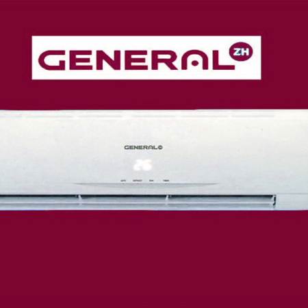 کولر گازی جنرال ZH زد اچ با گاز R410 مصرف انرژی A
