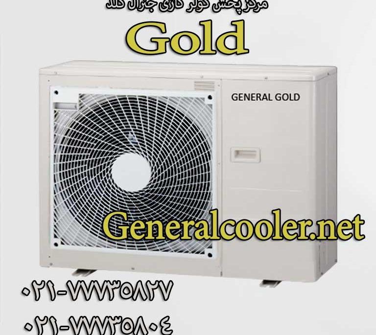 کولر گازی جنرال گلد رادیات طلایی کارتن جدید 768x684 کولر گازی جنرال مدل24000